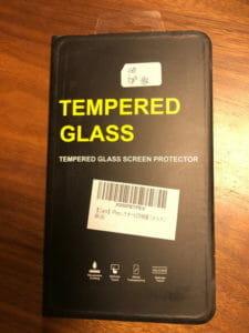 新しい液晶フィルムを買いました。