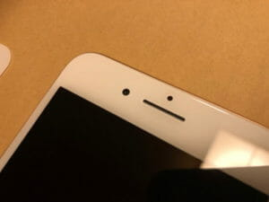 ガラスフィルムのおかげでiPhoneの液晶は無事だった!