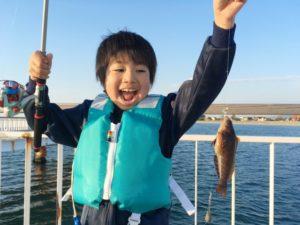 魚が釣れた