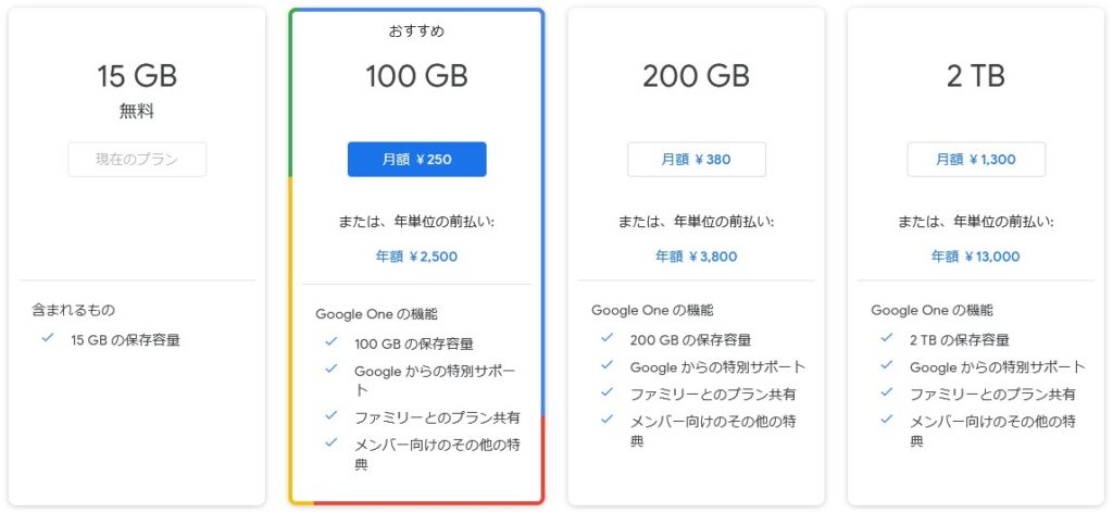 GoogleフォトはGoogleOneに統合か?無制限無料は終了へ