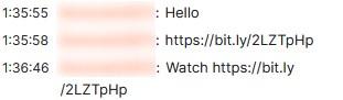 bit.ly の短縮URLをチャットに送信してくるな
