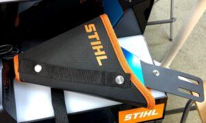 STIHL初のハンディータイプのバッテリーガーデンカッター専用ホルダー